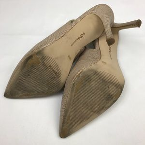 BCBGeneration Shoes - BCBGeneration Snake Leather Slingback Heels Sz 10